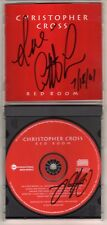 CHRISTOPHER CROSS: RED ROOM AUTOGRAPHED AOR OUT OF PRINT