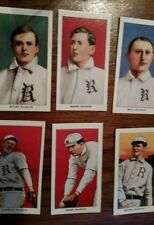 1909-1911 T206 Rochester Bronchos Broncos CCC minor lge team set REPRINT 6 cards