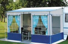 NEW Safari/Privacy Room Campervan/Motorhome 5.0m Awning + Poles & Curtains NEW