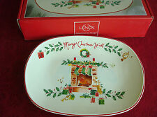 """LENOX~""""Merry Christmas Y""""all""""~TRAY~PLATTER~American by Design~NEW IN BOX"""