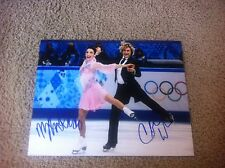Charlie White Meryl Davis Autographed 11x14 Photo USA Figure Pair Skaters PROOF