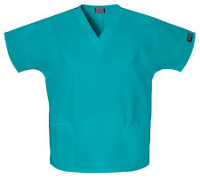 Cherokee Workwear Scrubs 4700 Scrub Top 15 Colors With Tags All Sizes Teal XL