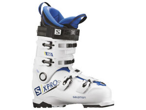 Scarponi Sci Skiboot Allround SALOMON X PRO 100 White Blue