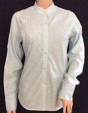 Rohan Ladies Pale Blue Travel Linen Blouse Size S -New