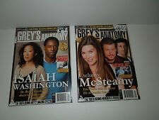 NEW! Complete Grey's Anatomy Official Magazine Series - 11 Issues