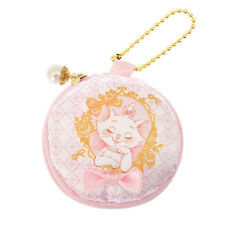 Marie Cat Coin Case Pouch Macaron ❤ Disney Store Japan The Aristocats