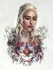 Game of Thrones-Daenerys Targaryen Poster Print Wall Art-Achetez 2 Obtenez 1 Gra...