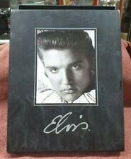 BOX FULL OF ELVIS PRESLEY DVDS COLLECTABLES BIRTH CERTIFICATE COPY & MEMORABILIA