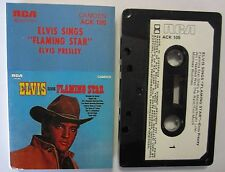 ELVIS PRESLEY ELVIS SINGS FLAMING STAR AUSTRALIAN RELEASE CASSETTE TAPE