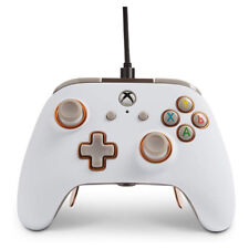 Wired controller power a fusion pro white xbox one/pc