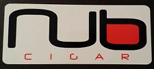 NUB cigar sticker / decal