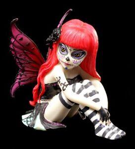 Elfen Figur Valentina - Sugar Skull Fairy - Gothic Fee Fantasy