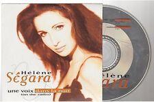 HELENE SEGARA une voix dans la nuit CD SINGLE card sleeve