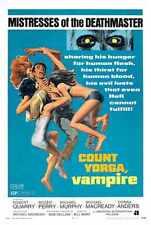 Count Yorga Vampire Cartel 01 A2 Caja Lona Impresión