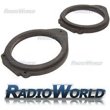 """Vauxhall Insignia 6.5"""" MDF Rear Door Speaker Adaptors / Rings / Spacers"""