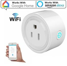 New Smart Mini WiFi Plug Outlet Switch works with Amazon Alexa Google Home IFTTT