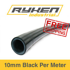 10mm Hose Flexible - Nylon - Black / Tube - Pneumatic Air Line / Per Meter