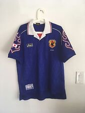 Ultra Rare Japan 1998 Home Asics Jersey Shirt Kagawa Nakata Kazu Mint!