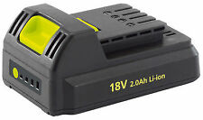 Draper 80628 18 V Lithium Li-ion Battery