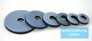 Teflon Möbelgleiter zum schrauben - Größe wählbar - eckig/rund Teflongleiter