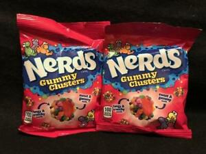 Brand New ~ Nerds GUMMY CLUSTERS Candy-  {LOT OF 2 BAGS} FAST, FREE SHIPPING!