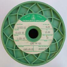 0,70 €//1m acciaio inox filo di avvolgimento 10m stesso ALZAVETRO coil Acciaio inox v2a filo