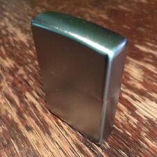 Genuine Zippo 205 satin chrome windproof Lighter CASE ONLY No Insert/Box