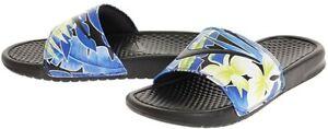 New Nike Benassi JDI Print Women Sizes Slides Black/Floral 618919 029
