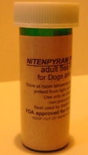 Nitenpyram (Capstar) flea killer control 6g treats 500 Cats or Dogs under 25 lb.