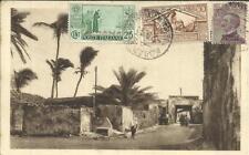 Somalia ITALIAN-Sc#130,#131,#86-MOGADISCIO 2/9/31-postcard view