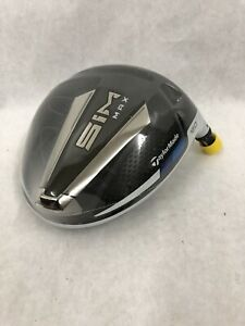 New TaylorMade SIM MAX 12* Driver -HEAD ONLY- RH w/ Adapter