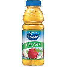 PepsiCo Ocean Spray Apple Juice Plastic 15.2oz. 12/CT Gold 123365