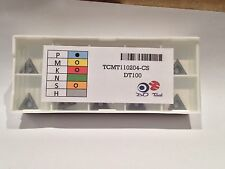 TCMT 110204 CARBIDE TURNING INSERTS (Original Brand Not Copied)