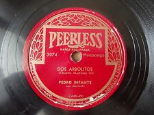 Pedro Infante Dos Arbolitos / Tu Solo Tu Peerless 3074