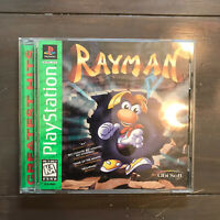 Rayman (Sony PlayStation 1, 1995) GREATEST HITS