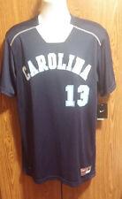 Nike North Carolina Tar HEELS Game Baseball Jersey Men's Large Blue 519556