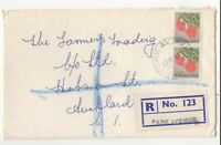 New Zealand Registered Cover Park Avenue 13 Apr 1965 to Auckland 043c