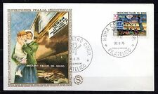 Italy - 1975 Emigration centenary - Mi. 1499 Clean unaddressed FDC