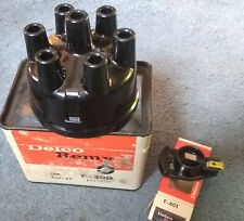 distributor cap and rotor 47-65 6 cyl ford f300 f401 delco remy