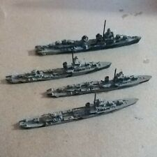 Us Navy Ww2 Destroyer squadron 3 Sims class 1 Gleaves Class Destroyer