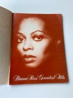Diana Ross' Greatest Hits Song Book Sheet Music Piano Chords Vocal 10 Songs