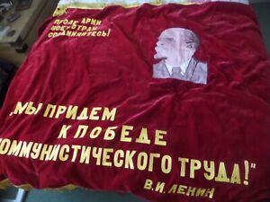 Union of Soviet Socialist Banner Red Cccp Russian Republics Ussr Flag Banner