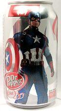 MT UNOPEN Diet Dr. Pepper Avengers Age of Ultron Captain America Ltd Ed USA 2015