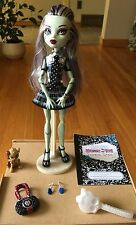 Mattel Monster High Frankie Stein Doll With Accessories. First Wave Pet Whatzit.