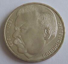 Bundes Republik Deutschland 5 Mark 1975 J Friedrich Ebert.