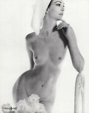 1966 Vintage 16x20 FEMALE NUDE Woman Glamour Art Photo Gravure By JOHN RAWLINGS