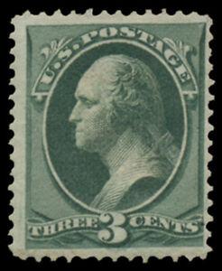 #136 F-VF, LH, 3¢