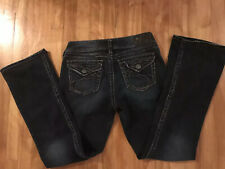 SILVER Jeans Suki Boot Low Womens Stretch Size 29