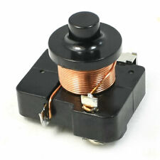 Black Plastic Case Compressor Relay Starter for 1/6 HP Refrigerator
