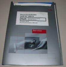 Werkstatthandbuch Audi A2 Typ 8Z Kraftstoffversorgung - Diesel Motoren AMF ANY